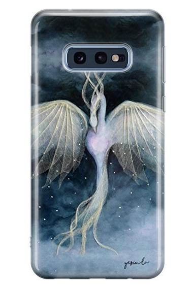 Lopard Samsung Galaxy S10E Kılıf Anka Kuşu Kapak Renkli